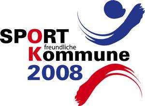 Logo SPORT freundliche Kommune 2008