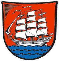 Wappen Elmshorn in Farbe