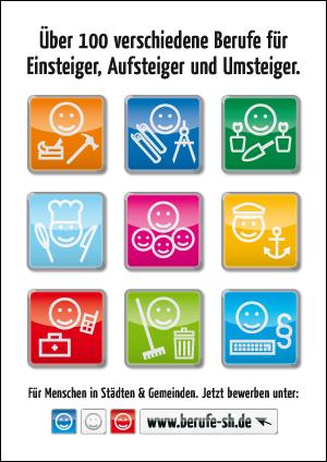 www.berufe-sh.de Plakat