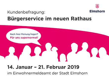 Kundenbefragung: Bürgerservice im neuen Rathaus