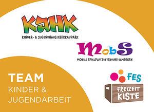 Team Kinder- und Jugendarbeit Logo bunt