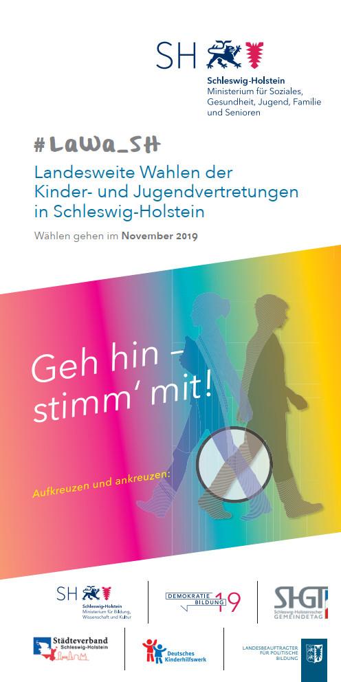 KJB-Wahlen 2019 - Kandidatensuche - Flyer_LaWa_SH_v05 - Deckblatt