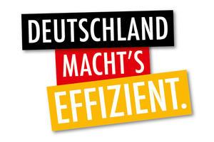 Logo - Deutschland macht's effizient / Energieeffizienz-Expertenliste