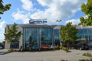 """Das Kino """"Cineplex Elmshorn"""" beim Grauen Esel"""