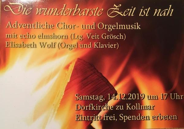Flyer echo elmshorn - am 14.12.2019 in Kollmar