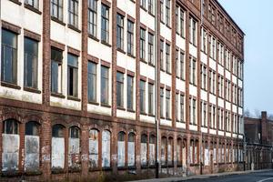 Die Knechtschen Hallen an der Schloßstraße.