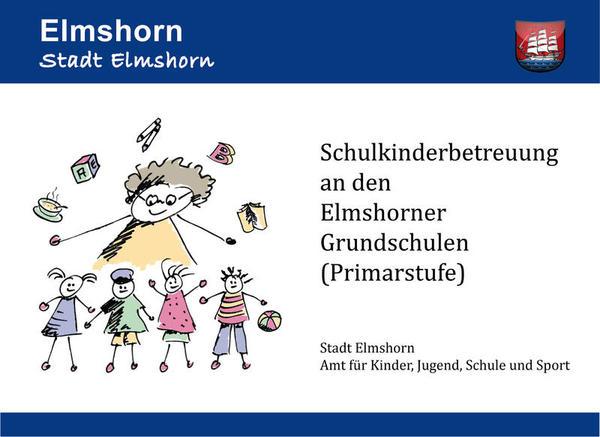Schulkinderbetreuung Bild mit Rahmen