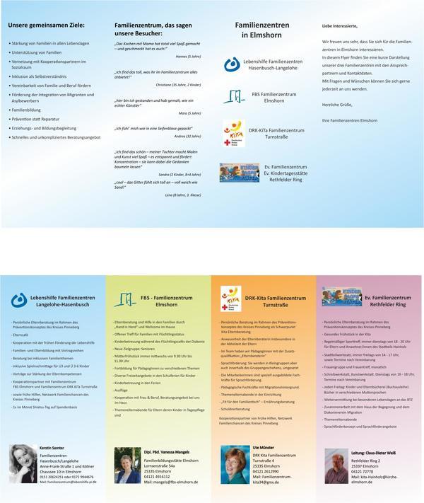 Familienzentren Vorschaubild zum Flyer