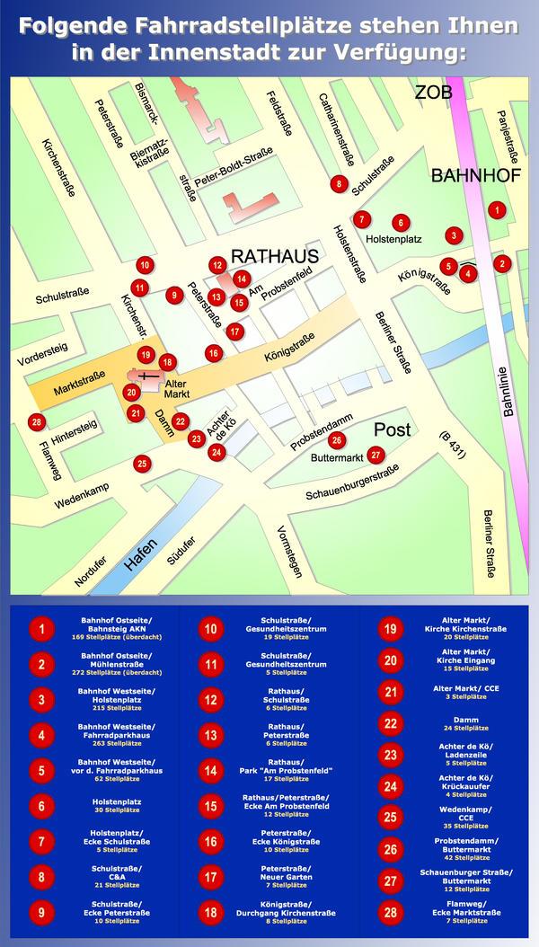 Infoblatt Radstellplätze 2013